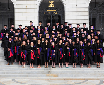 Seventy-seven students earn J.D. degrees at Maine Law graduation